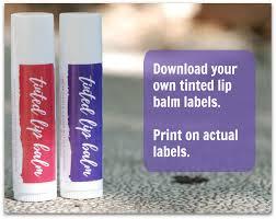 how to make tinted lip balm madeon