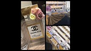 Tematica Chanel Buffet By Catering La Dulce Vida