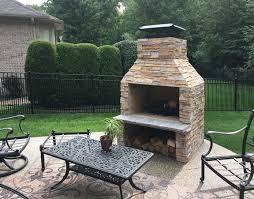 patio series fireplaces stone age