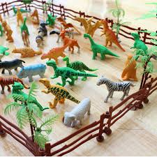 68pcs Set Plastic Farm Yard Wild Fence Tree Animals Model Kids Toys Figures Play Set Toys For Children Kids Adult Toy Figure Set Toystoys For Aliexpress