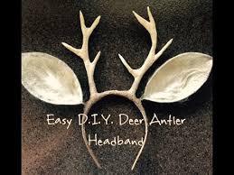 easy d i y deer antlers you