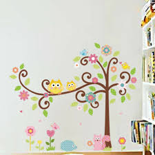 Removable Owl Tree Squirrel Wall Sticker Art Mural Decal Kids Room Diy Decor For Sale Online Ebay