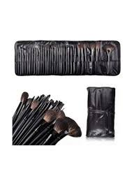 makeup brush set with pouch bag