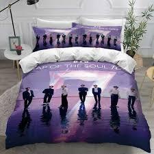 kpop bts bedding set duvet cover and