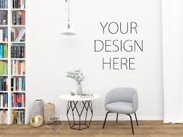 best 14 wall mockups for interior designers