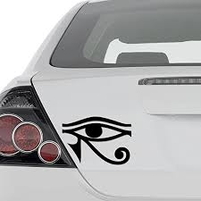 Amazon Com Aampco Decals Eye Of Horus Egyptian Pagan Vinyl Decal Sticker Wall Decor Motorcycle Car Truck Windows Bumper Size 20 In 50 Cm Wide Color Gloss Black