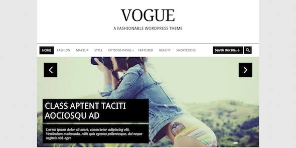 MyThemeShop Vogue WordPress Theme