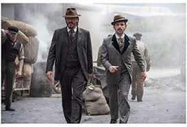 Jerome Flynn as Det Sgt Bennet Drake Walking with Adam Rothenberg ...