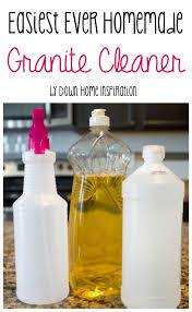 easiest ever homemade granite cleaner