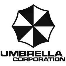Resident Evil Umbrella Corps Text Decal Sticker