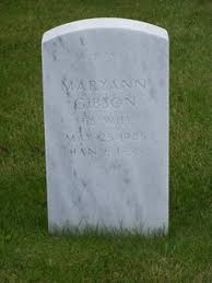 Mary Ann Gibson (1945-1999) - Find A Grave Memorial