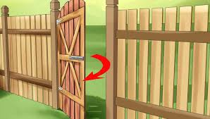 swinging how to build a garden gate how