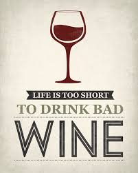 Life Is Too Short To Drink Bad Wine Removable Wall Decal Keep Calm Collection