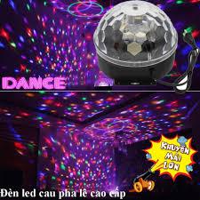 Đèn LED 7 Màu USB – Đèn Bay Vũ Trường – Đèn Cầu Vũ Trường Trang Trí Phòng  Karaoke Phòng Bay Phòng Khách…vv, Ánh LED Đẹp Tỏa Rộng.Sale 50%.