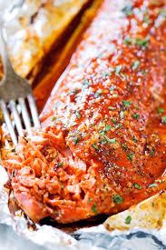 fireer baked salmon in foil recipe