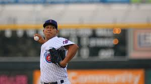 Iowa Cubs pitcher Adbert Alzolay diagnosed with 'slight biceps soreness'