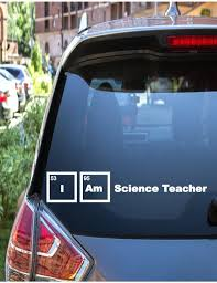 Science Teacher Decal Chalkboard Decal For Yeti Cup Teacher Sticker School Decal Teacher Decal Funny Car Decals Car Decals Vinyl Car