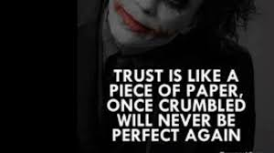 joker quotes for trust issue