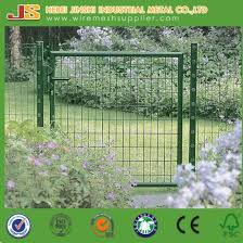 China Iso9001 Iso14001 Certification Factory Sale Garden Fence Iron Gate Wire Mesh Walkway Door China Wire Mesh Gate Garden Gate