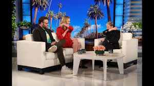 Charlize Theron Shows Seth Rogen & Ellen Her Make Out Tips - YouTube