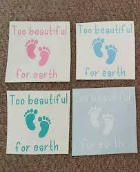 Vinyl Sticker For Ikea Box Frame Too Beautiful For Earth Quote Memory 2 99 Picclick Uk