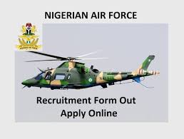 Nigerian Airforce Recruitment 2020 Register Form at www.airforce ...