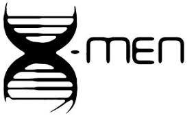 X Men Dna Logo 6 Black Vinyl Decal Sticker Laptop Wall Car Window Ipad Etc