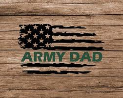 Army Dad Decal Etsy