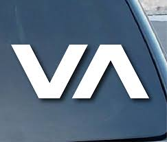 Rvca Va Car Window Vinyl Decal Sticker 6 Buy Online In Bahamas At Desertcart