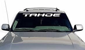 Window Decal For Chevy Tahoe Trucks Vinyl Sticker Free Etsy