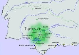 Tartessos, un territorio situado entre el río Guadiana y el ...