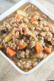 ham and bean soup crock pot recipe is