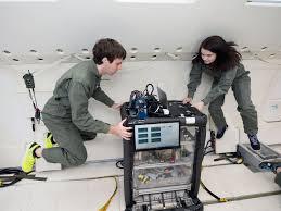 parabolic flights test technologies in