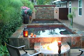 hot tub backyard design ideas backyard