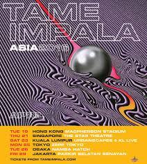Tame Impala - Touring Asia next month ...