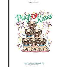 pug dog lover notebook gift pugs n