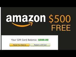 free amazon gift card code 2019 you