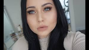 makeup for fair skin black hair
