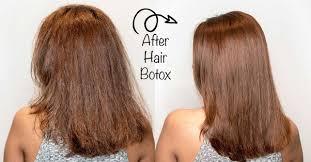 what is hair botox treatment
