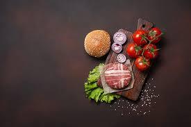 hd wallpaper food meat vegetables
