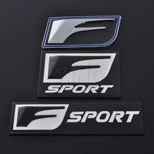Car Sticker Badge Emblem Metal Decal For Lexus F Sport Is Isf Gs Rx Rx300 Rx350 Es Is250 Es350 Lx570 Ct200 Styling Accessories Metal Car Decal Car Stickers Decalsdecals For Cars Aliexpress