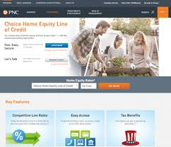 pnc home equity line of credit