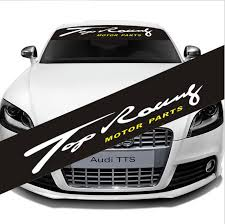 2020 Car Front Back Black Transparent Windshield Banner Decal Auto Glass Vinyl Sticker For Top Racing Motor Parts From All Roads 10 56 Dhgate Com