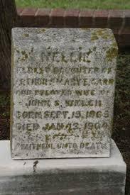 Eleanor Priscilla (Carr) Welch (1865-1904) | WikiTree FREE Family Tree