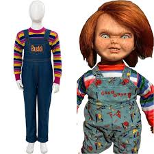 Của trẻ Chơi Cosplay Chucky Trang Phục Charles Lee Tia Buddi Búp ...