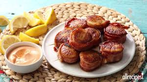 Spicy Bacon Wrapped Scallops ...