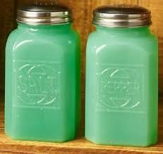 milk glass salt pepper shakers