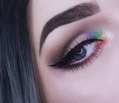 eye makeup ideas inner corner highlight