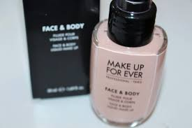makeup forever face body foundation
