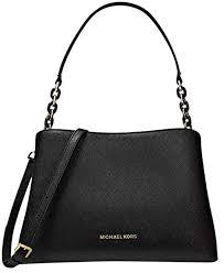 sofia black saffiano leather satchel
